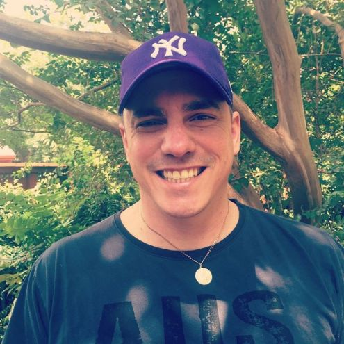 Matthew Oliver New York Yankees Purple Special Edition Alzheimer's Awareness Cap